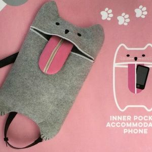 Bags - Cat Convertible Backpack